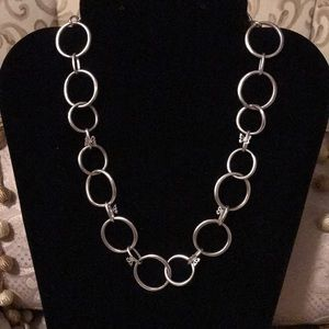 GUC~ Fossil Brand Butterfly Chain Link Necklace